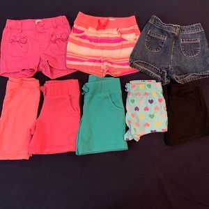 Lot of 8 Toddler shorts Size 3T